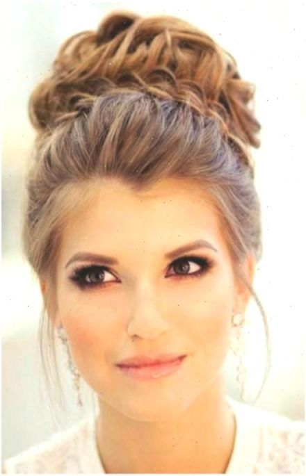 Bridesmaid Hairstyles For A Strapless Dress In 2020 Strapless Dresses Hairstyles In 2020 Dress Hairstyles Wedding Hairstyles Bridesmaid Strapless Dress Hairstyles