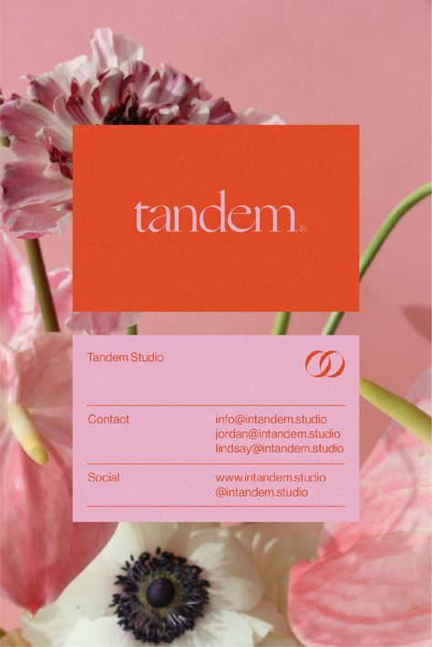 Tandem is a full service creative studio based in Utah. Design Brochure, Graphic Design Posters, Stationery Design, Graphic Design Typography, Identity Design, Graphic Design Inspiration, Corporate Design, Layout Design, Print Design