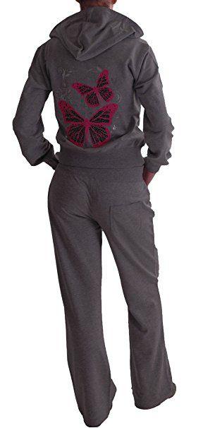 EyeCatchClothing Butterfly Damen Trainingsanzug