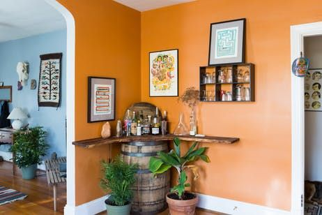 A Relaxed Richmond Home Influenced by Color & Community | When I