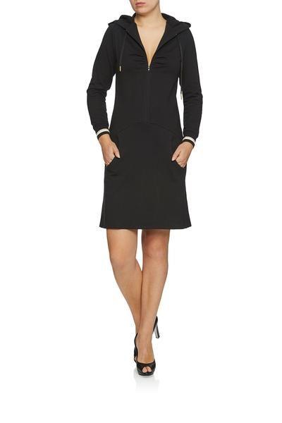 0b4d0b9d561 Fru Hood dress black | WEIZ Cph loves dresses ❤
