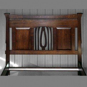 Mission Style Headboard King Ideas On Arts And Crafts Furniture King Beds Headboard Styles