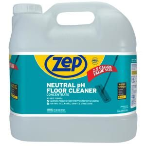 Zep 2 5 Gal Neutral Floor Cleaner Zuneut320 The Home Depot In 2020 Floor Cleaner Neutral Flooring Floor Maintenance