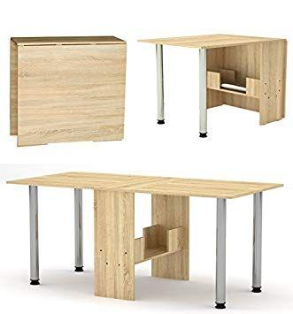 Wandklapptisch Mit Beinen Klappbarer Tisch Klapptisch Esstisch