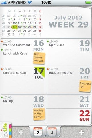 Mylife Best Calendar App Iphone Calendar App Best Calendar App