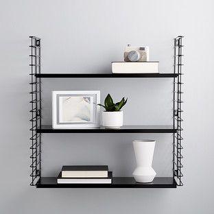 Black Metal Libro Wall Shelf In 2020 Wall Shelves Wire Wall