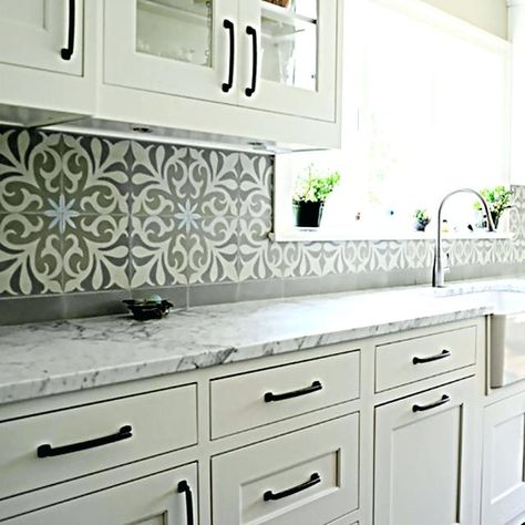 Image Result For Spanish Tile With Granite Countertop Moroccan