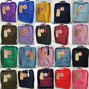 Darmowa dostawa przedstawianie niesamowity wybór 7L/16L/20L Brand Unisex Fjallraven Kanken Travel Backpack ...