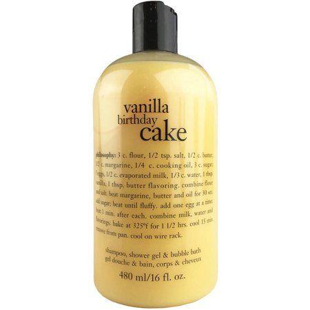 Strange Premium Beauty Shower Gel Birthday Cake Vanilla Birthday Cards Printable Giouspongecafe Filternl