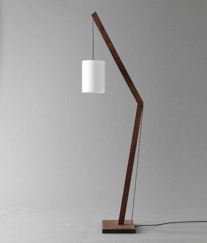 Angular Floor Lamp Diy Floor Lamp Wooden Lamps Design Floor Lamp Design