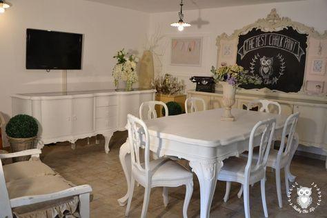 Tavolo Chippendale Bianco.Shabbychiclife Chippendale Prima E Dopo Mobili Chippendal