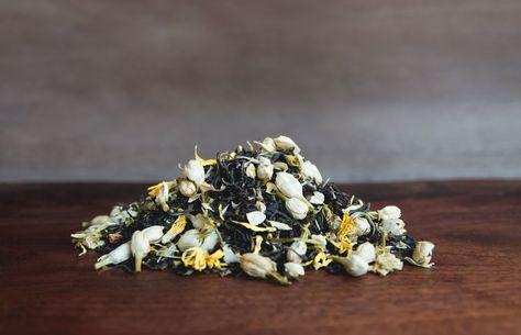 Asheville Tea 1 oz Loose Leaf Green Tea -Jasmine Gold- Some Caffeine
