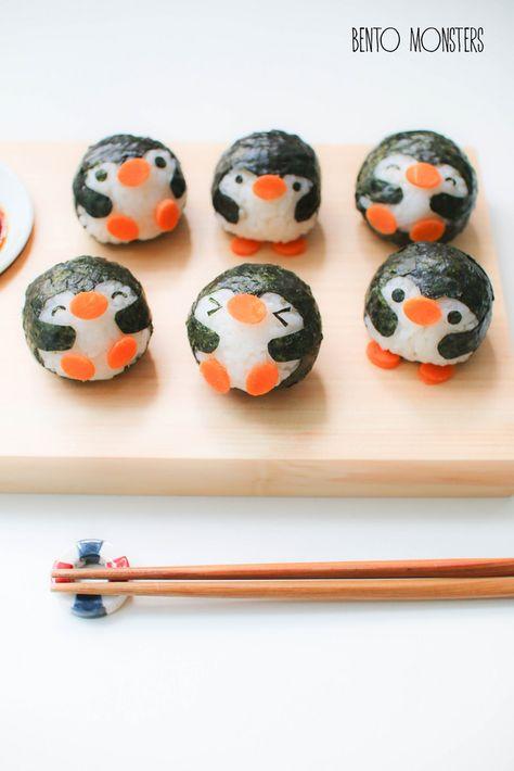 funny food - funny food prepared for big and small creativ - Bento Box °-° - Cute Food, Yummy Food, Cute Bento Boxes, Bento Box Lunch, Japanese Food Art, Kawaii Bento, Sushi Art, Bento Recipes, Think Food