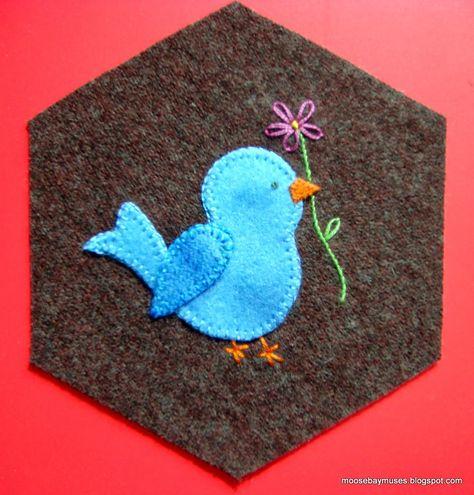 bluebird stitch society hexy
