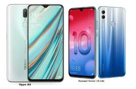 Oppo A9 Vs Huawei Honor 10 Lite Specs Comparison Huawei 10 Things Digital Zoom