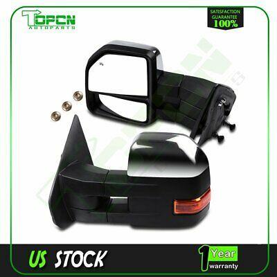 FOR Toyota 2000-2006 Tundra Mirror Power W//Manual Folding Chrome LH New