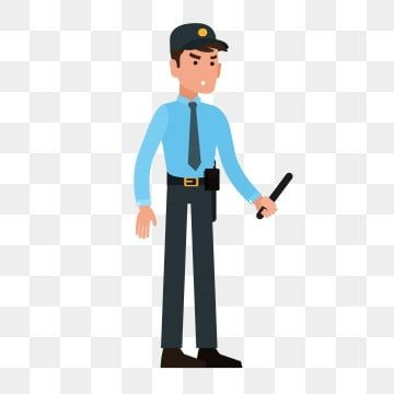 Cartoon Cartoon Cartoon Security Guard Security Blue Blue Uniform Uniform Security Png And Vector With Transparent Background For Free Download Logo Design Free Templates Security Logo Logo Design Free