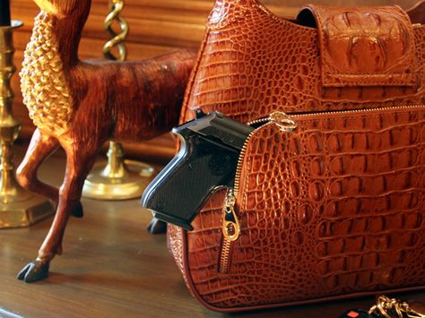 Packing heat in style: High-end purses help women conceal guns
