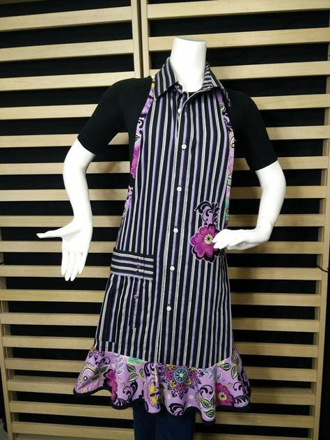 R Upcycled Apron