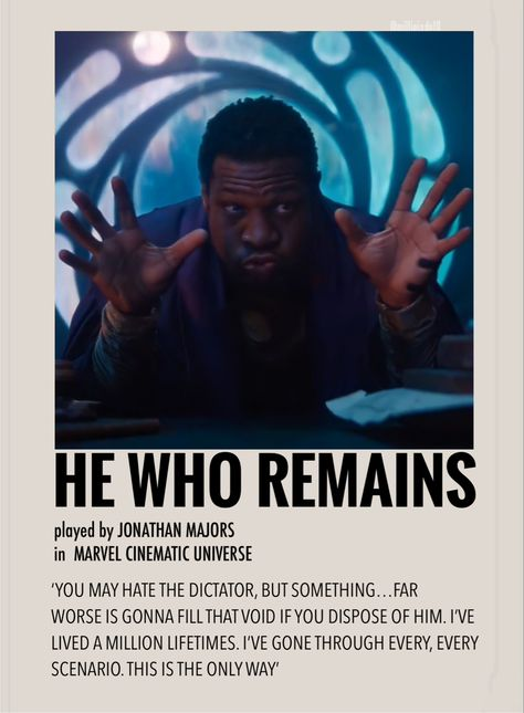 He who remains by Millie