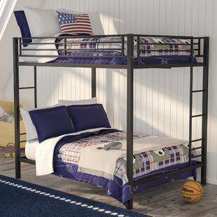 Loon Peak Tustin Twin Over Full Bunk Bed Wayfair In 2020 Full Bunk Beds Bunk Beds Bunk Bed With Trundle