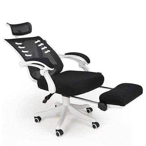Awe Inspiring Hbada Reclining Office Desk Chair Adjustable High Back Customarchery Wood Chair Design Ideas Customarcherynet