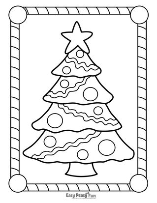 Christmas Coloring Pages Christmas Coloring Pages Printable Christmas Coloring Pages Christmas Tree Coloring Page
