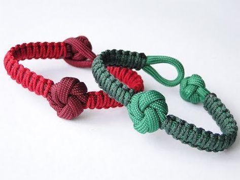 How To Make A Mandala Knot And Loop Closure Micro Cord Cobra Weave