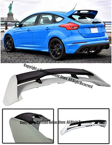 For 13 Up Ford Focus 5dr Hatchback Rs Style Abs Plastic Unpainted