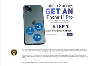 Get A Brand New Iphone 11 Pro ( USA Residents)