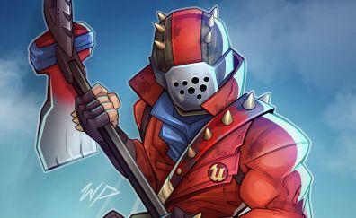 Fortnite Video Game Fan Art Character Wallpaper Youtube Art Fortnite