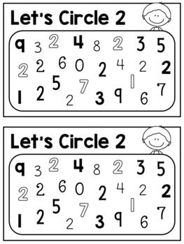Little Books Of Numbers 1 10 Half Page Booklets Pre K