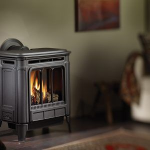 Gas Stove Fireplace Free Standing Ventless Gas Fireplace In 2021 Propane Gas Fireplace Gas Fireplace Cast Iron Stove