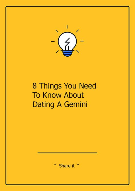 dating a gemini