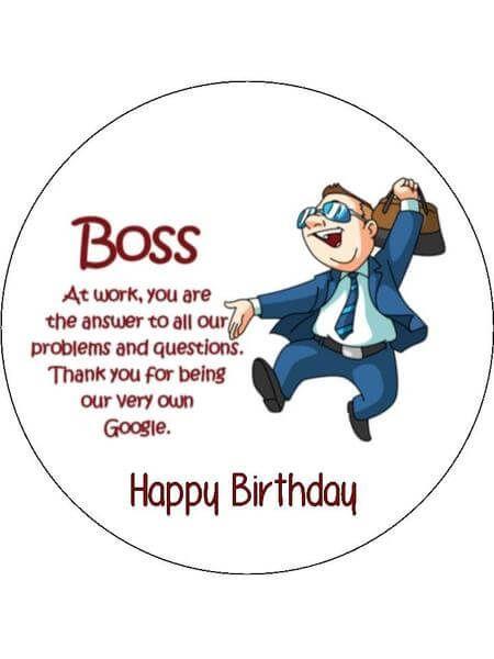Happy Birthday Boss Funny Happy Birthday Boss Funny Birthday Wishes For Boss Birthday Wishes Quotes