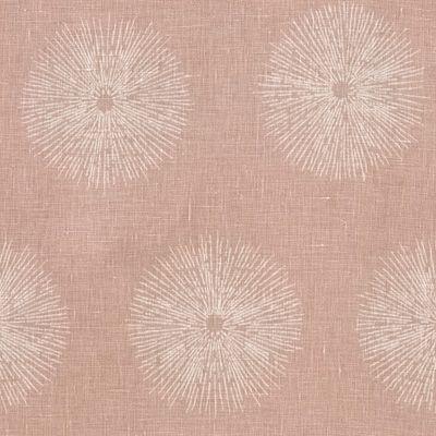 Sea Urchin linen fabric in pink / beige by Kelly Wearstler // #linen #pink #beige #fabric