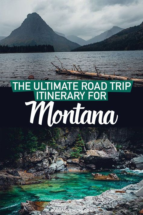 Our Montana road trip takes you through some of the best places to visit in Montana including Yellowstone National Park, Glacier National Park, and more. Glacier National Park Montana, Yellowstone National Park, Glacier Montana, West Yellowstone Montana, Yellowstone Vacation, Glacier Park, West Coast Road Trip, Us Road Trip, Cool Places To Visit