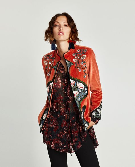 EMBROIDERED JACKET-NEW IN-WOMAN | ZARA United States