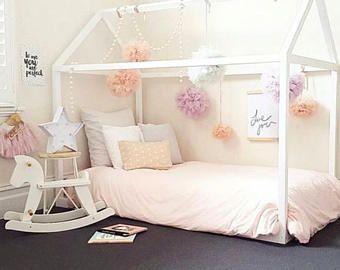 Modèle de lit lit bébé lit Hira de jeu enfant lit maison ...