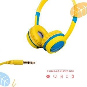 Cute Kids Over Ear Wired Headphones Safely Children Over Ear Headset Adjustable Headband Computer Tablet Kid Baby Child Earphon With Images Wired Headphones Headphones Ear