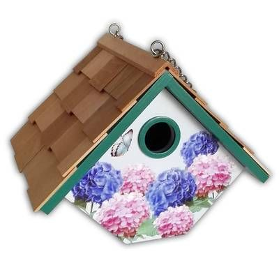 "7.5/"" Audubon NAWREN Traditional Wren Bird House"