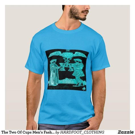 #the #two #of #cups #tarot #tarotcards #tarotcard #minorarcana #love #astrology #psychic #occult #black #blue #man #fashion #mensfashion #tshirts #tshirt #tee