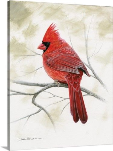 CARDINAL ON BIRCH BRANCH METAL WALL SCULPTURE WALL DECOR WALL ART