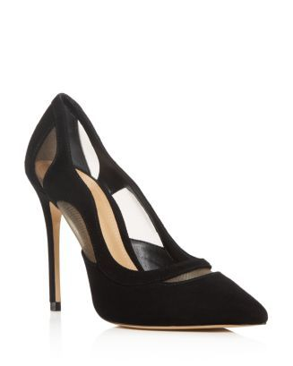 Poliany Pointed-Toe Pumps Shoes