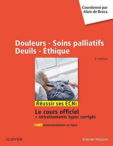 Douleurs Soins Palliatifs Deuils Ethique