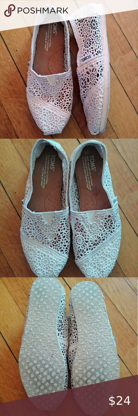 Toms Shoes 80% OFF!> TOMS Lace Slip On Flats TOMS Lace Slip On Flats Size: 5 Color: Ivory /Cream Condition: Great pre-owned. Minimally worn. Minor signs of wear in soles. Toms Shoes Flats  Loafers #Toms #Tomsshoes #shoes #style #Accessories #shopping #styles #outfit #pretty #girl #girls #beauty #beautiful #me #cute #stylish #design #fashion #outfits #diy #design