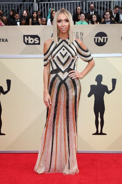 TV personality Giuliana Rancic attends the 24th Annual Screen Actors Guild Awards.