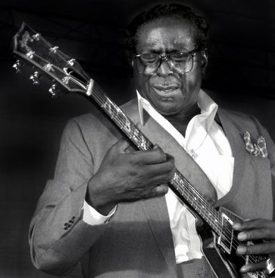 Today in blues singer and guitarist, Albert King died from a heart attack in Memphis, Tennessee