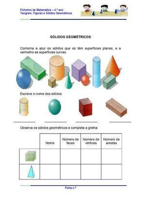 Atividade Avaliativa Geometria Sala De Aula Profª Rerida