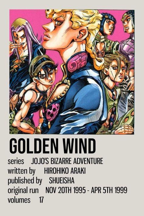 Jojo golden wind